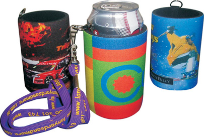 CDI-N04 - Full Colour Stubby Holder + Handy Tag.